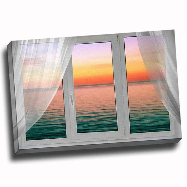 'Glimpse of the Sunset' Wall Art