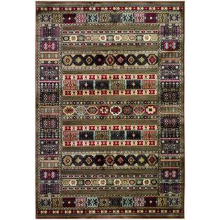 Cire Power-loomed Jerrico/ Quartz Area Rug (5'3 x 7'6)