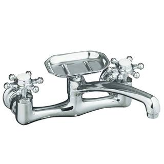Kohler Antique Kitchen Sink Faucet with Soap Dish