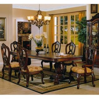 Manresa 9 piece formal dining set overstock shopping for 9 piece formal dining room sets
