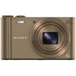 Sony Cyber Shot DSC-WX300 WiFi 18.2MP Brown Digital Camera