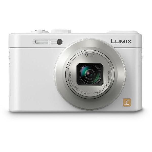 Panasonic LUMIX DMC-LF1 Wi-Fi 12.1MP White Digital Camera