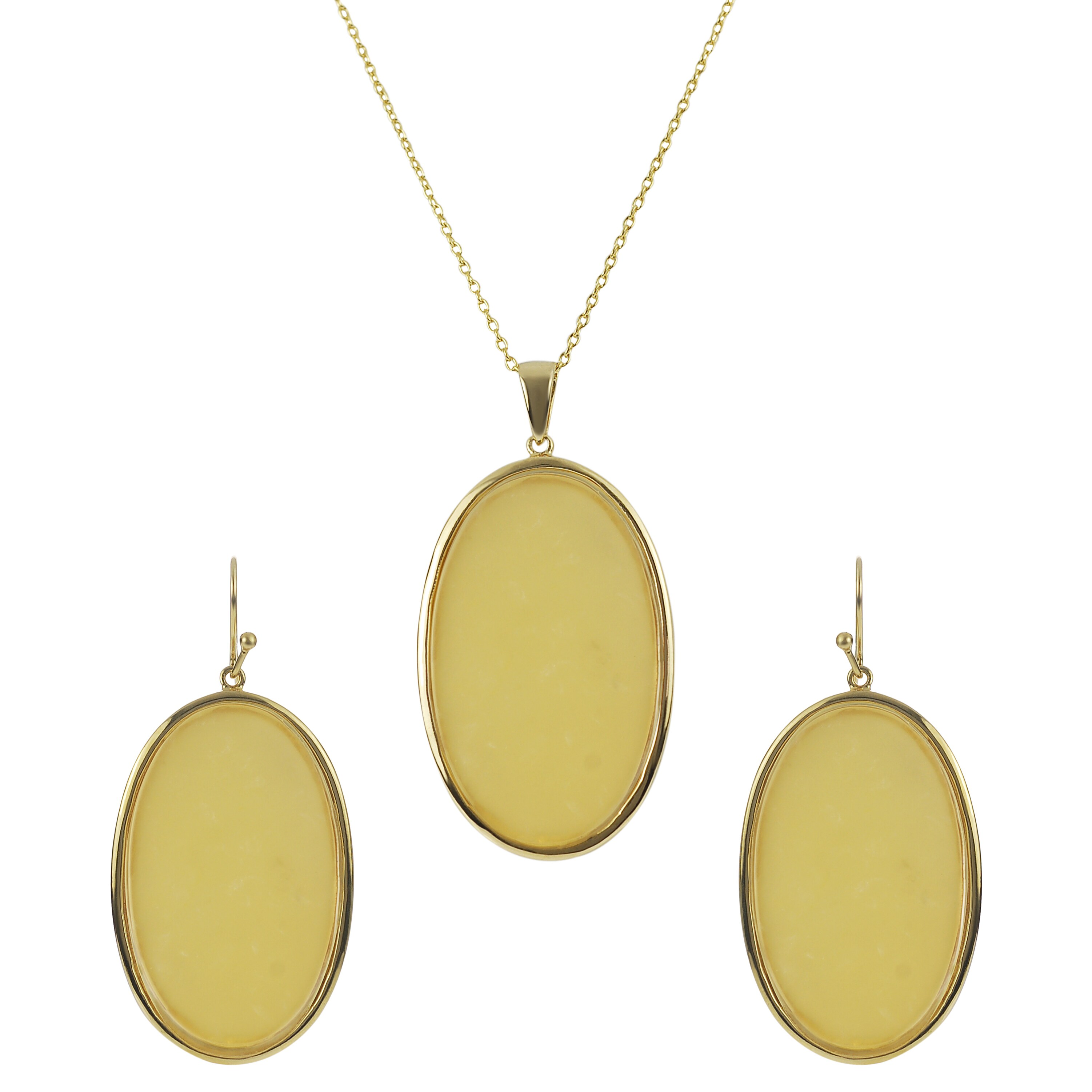 Tressa Collection Women's Sterling Silver Agate Jewelry Set at Sears.com
