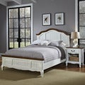 The French Countryside Queen Bed and Night Stand
