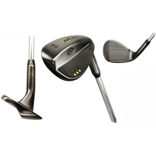 Nextt Golf CX3 Black Chrome 3-pc. Right Hand Wedge Set (Black/Green)