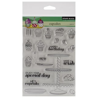 Penny Black Clear Stamps 5X6.5in Sheet-Cupcakes