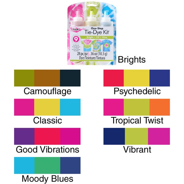 Tulip One-Step Tie Dye Kit