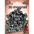 Paper House 3D Magnets 1/Pkg Oz Sister