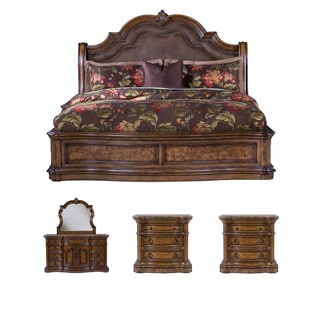 Montana 5-piece Platform King-size Bedroom Set