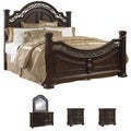 Tuscany 5-piece Mocha Finish Queen-size Bedroom Set