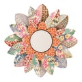 Upton Home Miranda Decorative Floral Mirror