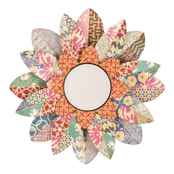 Upton Home Miranda Decorative Floral Mirror