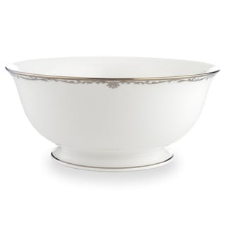 Lenox Coronet Platinum Serving Bowl