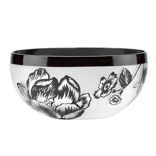 Lenox Midnight Blossom 8-inch Crystal Bowl