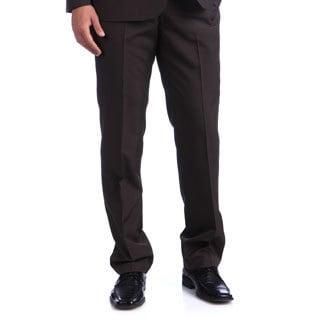 Kenneth Cole Reaction Men's Brown Ministripe Suit Separates Pant