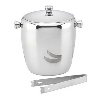 Gorham That's Entertainment Large Ice Bucket with Tongs