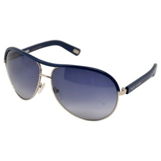 Marc Jacobs Women's 'MJ 400/S Palladium' Blue Metal Sunglasses