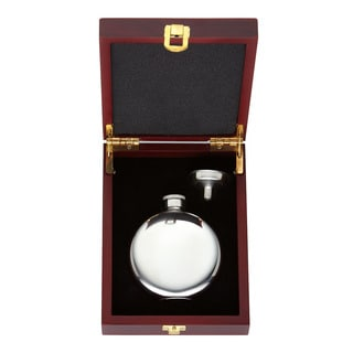 Gorham That's Entertainment 2-piece Round Flask Set
