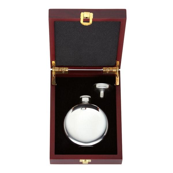 Gorham That's Entertainment 2-piece Round Flask Set