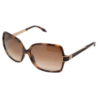 Roberto Cavalli Unisex 'RC648S' Injected Havana Brown Sunglasses