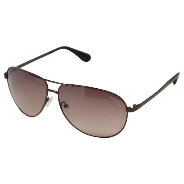 Marc Jacobs Unisex 'MMJ 004/S' Brown Tortoi Aviator Sunglasses