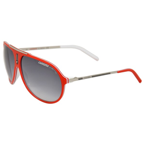 Carrera Unisex 'HOT/S 06DC Palladium' Red/ White Fashion Sunglasses