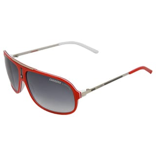 Carrera Unisex 'COOL/S 6DC 7V' Palladium' Red/ White Fashion Sunglasses