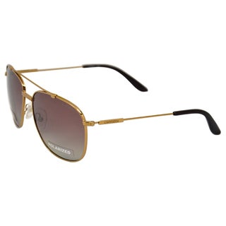 Carrera Unisex '68/S OUN' Antique Gold Aviator Sunglasses