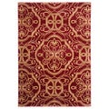 Empire Claret Area Rug (7'10 x 9'10)