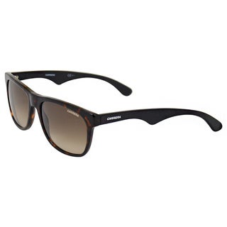 Carrera Unisex '6003 4NC/CC' Havana/ Black Retro Sunglasses