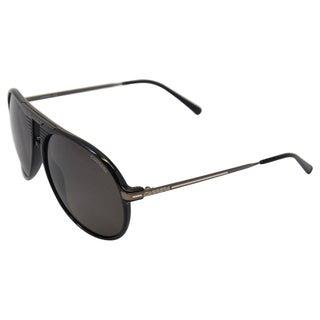 Carrera Unisex '56/S 0KKL' Shiny Black Sunglasses