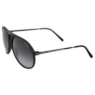 Carrera Unisex '56/S 0GTN' Matte Black Retro Metal Sunglasses