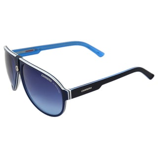 Carrera Men's 'CA 32/S VR6' Blue/ White Plastic Aviator Sunglasses
