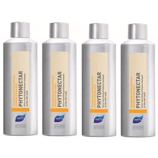 Phyto Phytonectar Ultra Nourishing Ultra-dry Hair Shampoo (Pack of 4)