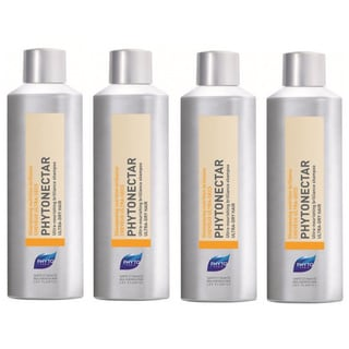 Phyto Phytonectar Ultra Nourishing Ultra-dry Hair Shampoo (Pack of 4)