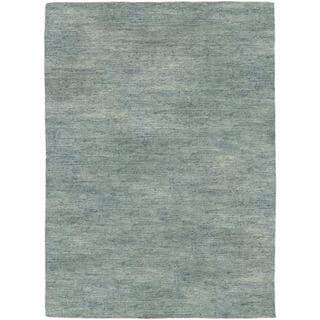 Anji Hand-loomed Anji/ Grey Area Rug (5'3 x 7'6)