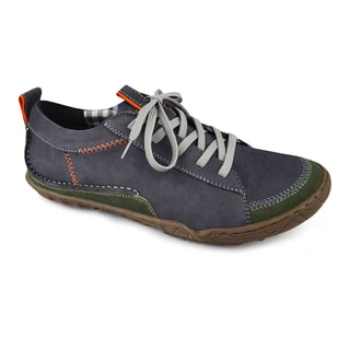 Muk Luks Men's 'Cory' Green Leather Casual Shoes