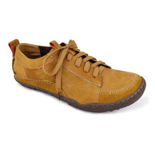 Muk Luks Men's 'Cory' Tan Leather Casual Shoes