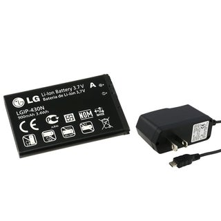 INSTEN LG Replacement Battery/ Travel Charger for LG Force LX370
