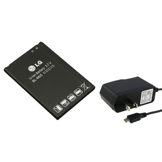 INSTEN LG Replacement Battery/ Travel Charger for LG Lucid VS840