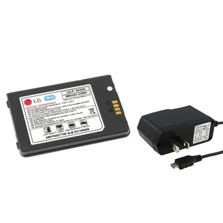 INSTEN LG Replacement Battery/ Travel Charger for LG VX9200 ENV3