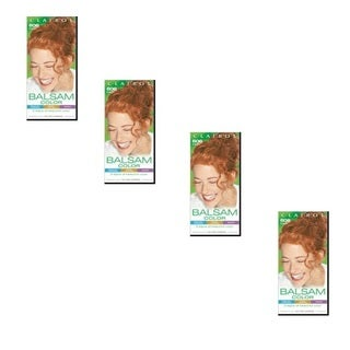 Clairol Balsam Hair Color Auburn 606 (Pack of 4)
