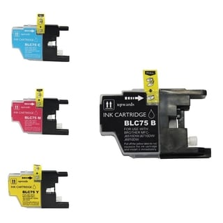 BasAcc 4-ink Cartridge Set Compatible with Brother LC-71/ LC-75