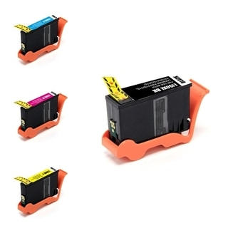 BasAcc 4-ink Cartridge Set Compatible with Lexmark 150XL