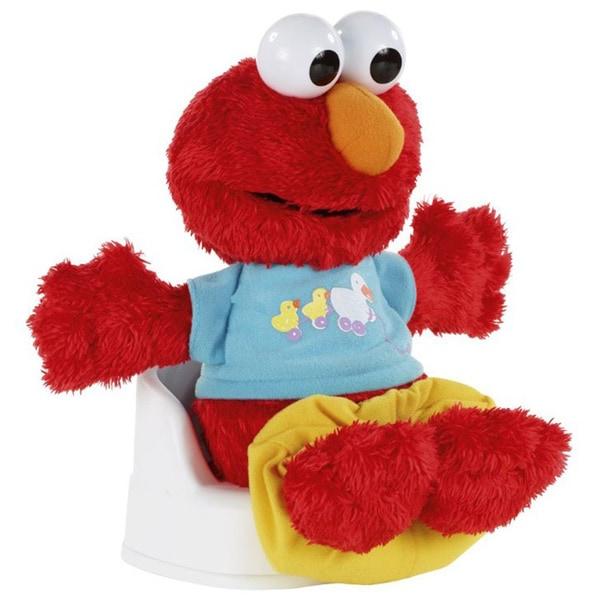 Sesame Street Potty Time Elmo Plush