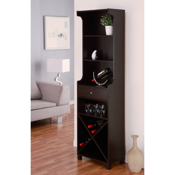 Furniture of america alton modern cappuccino multi storage for Furniture of america alton modern multi storage buffet espresso