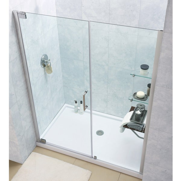 Dreamline Elegance Frameless Pivot Shower Door And