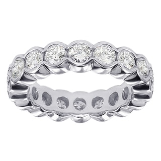 14k/ 18k Gold or Platinum 2.5ct TDW Contemporary Diamond Band (F-G, SI1-SI2)