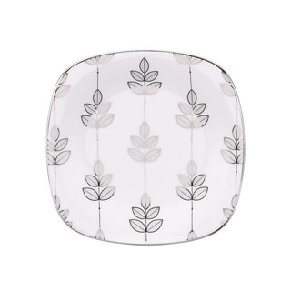 Lenox Platinum Leaf Square Salad Plate