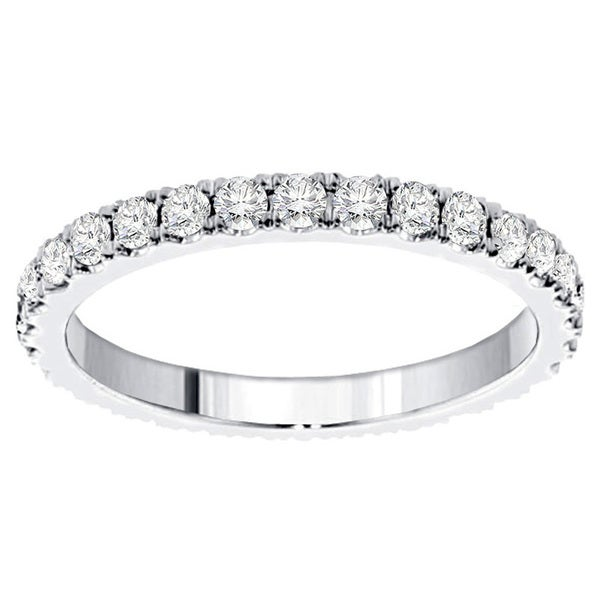 1 1/5ct TDW Diamond Eternity Band (F-G, SI1-SI2)